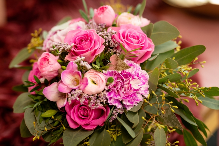 Brautstrauss rosa pink Jüchen